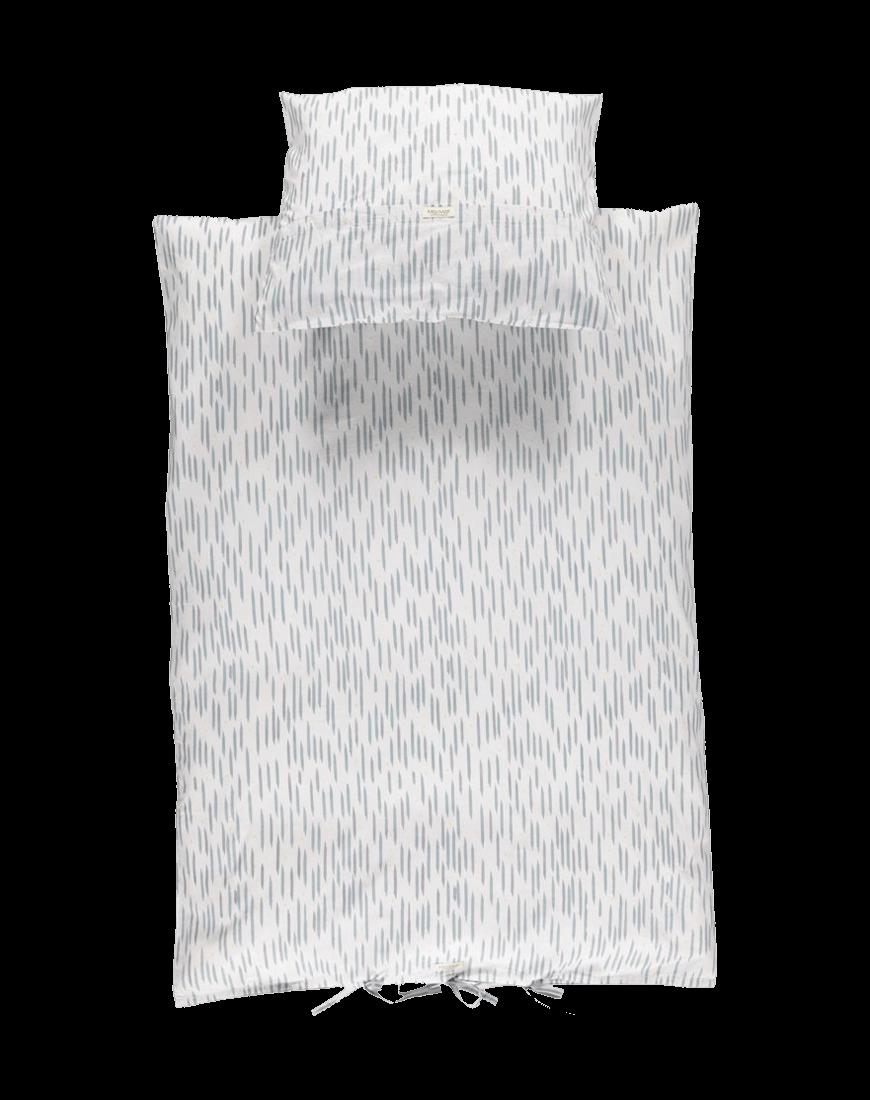 Sengetøj Junior Moondust Blue Stripe