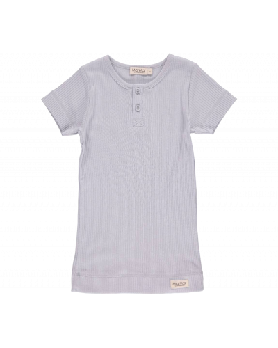 T-shirt modal pale blue 0451