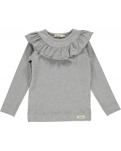 Tessie Jersey Shirt/Top Grey Melange