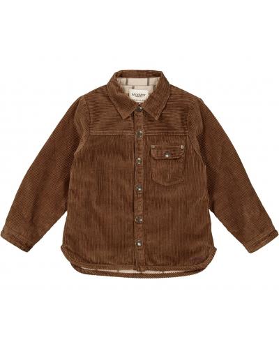 Tommy Quilt Vatteret Skjorte Wood