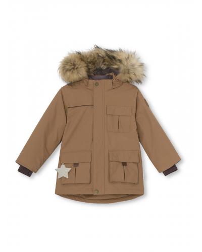 Kastor Fur Jacket Acorn Brown