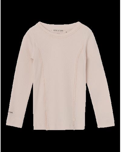 Aje Langærmet T-shirt Silver Peony
