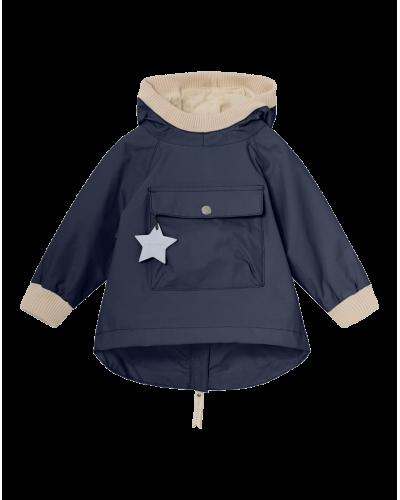 Mini A Ture Baby Vito Anorak Mørkeblå