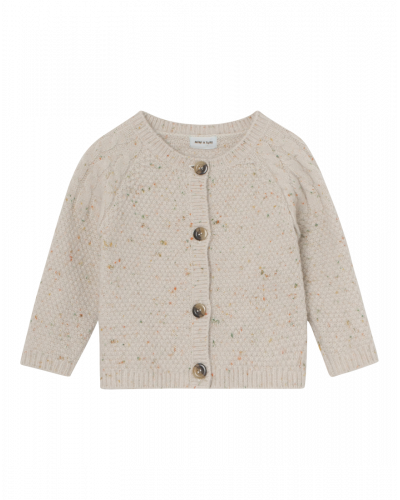 Mini A Ture Ditlev Cardigan Light Brown