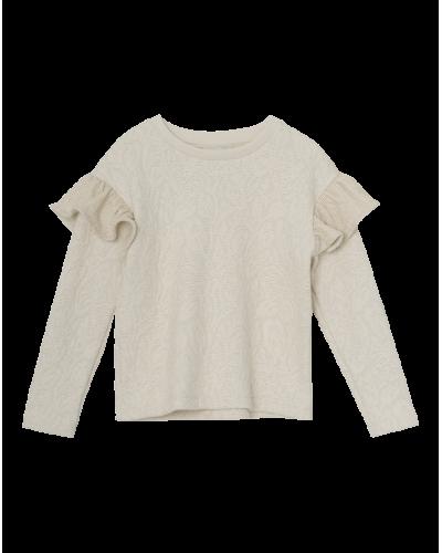 Mini A Ture Miriam Langærmet Bluse Cream