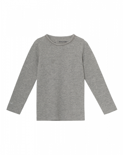Mini A Ture Elga Langærmet Bluse Light Grey
