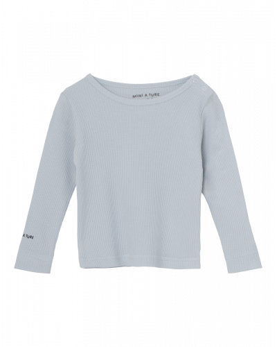 Mini A Ture Erion Langærmet T-shirt Babyblå