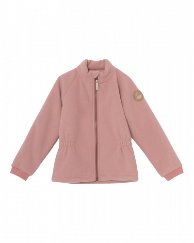 Iola Zip Jakke Old Rose