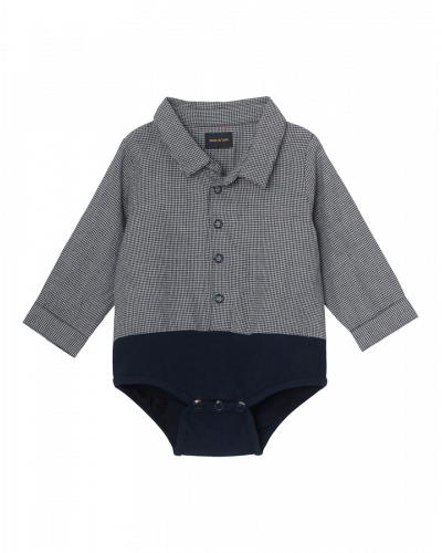 Mini A Ture Matis Shirt Body Blå Tern
