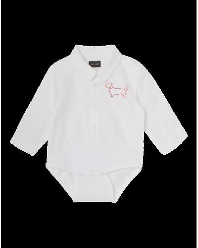 Mini A Ture Matis Shirt Body Hvid