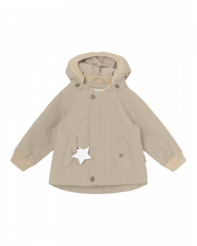 Mini A Ture Wally Jakke m. Fleece Sand