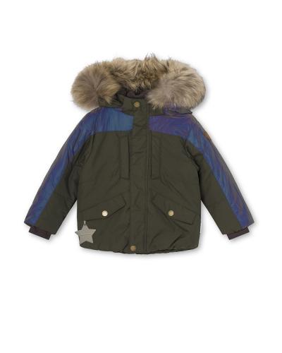 Welias Fur Jacket Deep Depths