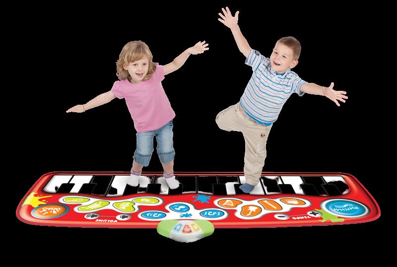 hop-og-spil klaver