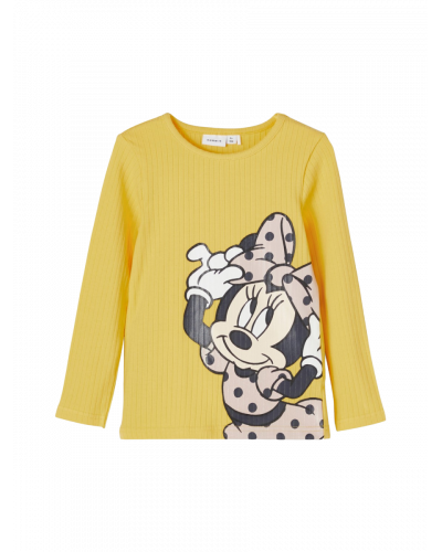 Minnie Mouse Bluse Gul / Sunset Gold
