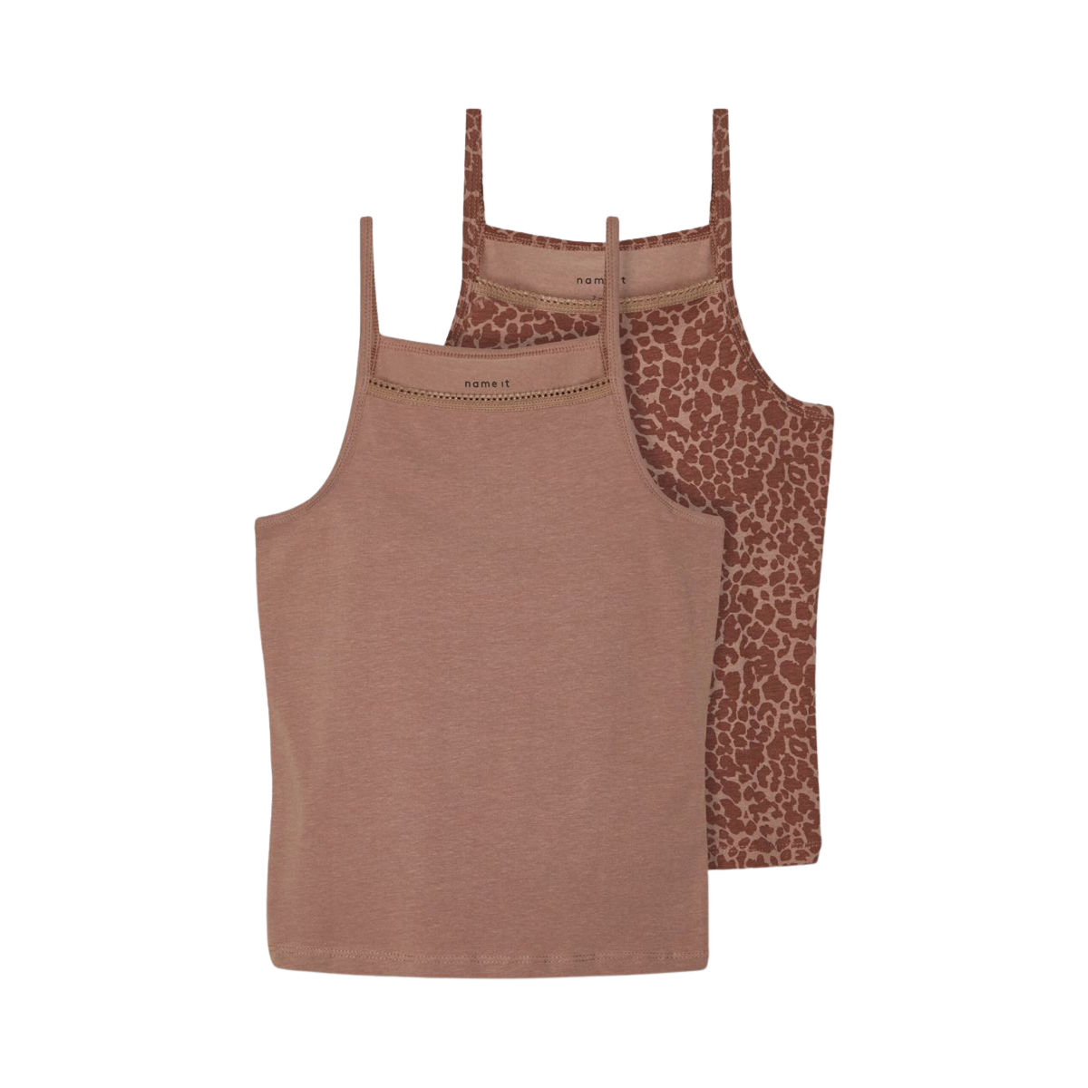 2Pack Strap Top Twilight Mauve