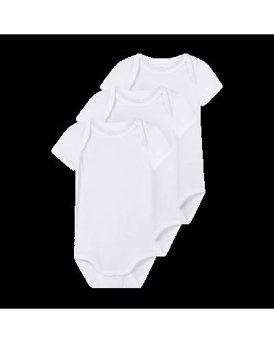 3-pak hvid t-shirt body