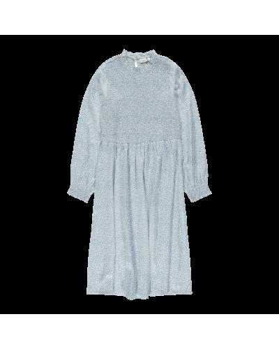 Dorar Midi Kjole Dusty Blue