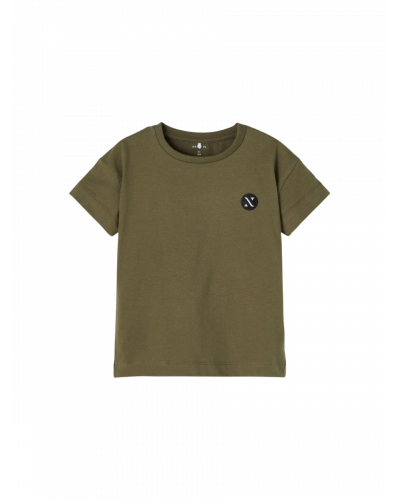 Fexa Boxy T-shirt Olive Night