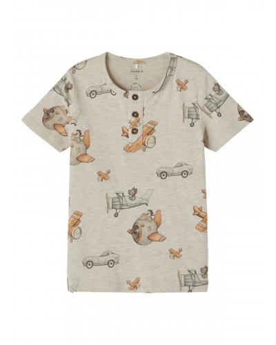Hubert T-shirt Beige / Peyote Melange