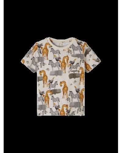 Jelix ss T-shirt Peyote Melange