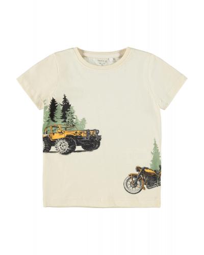 Kaleb T-shirt Whitecap Gray