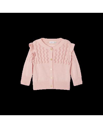 Knitted  Cardigan Peachskin