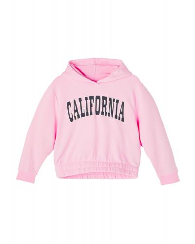 Lacia LS Boxy Sweatshirt Hood Lilac Sachet