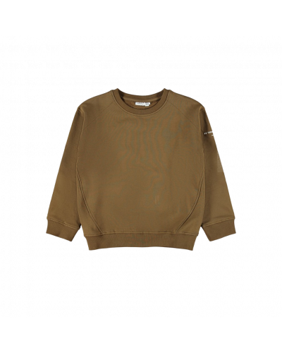 LS Boxy Sweatshirt Coffee Liqueur