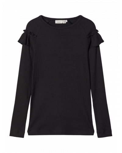 LS Slim Top Black