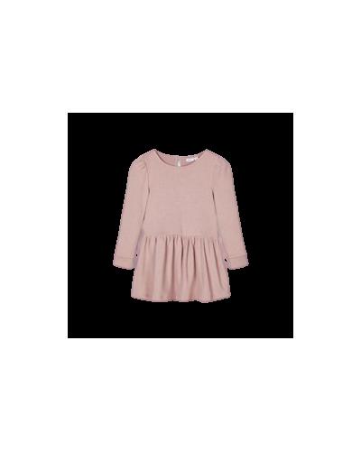 LS SWE Dress Woodrose