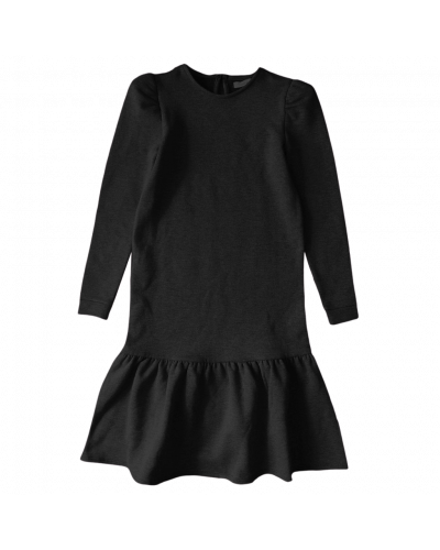LS SWE Midi Dress Sort