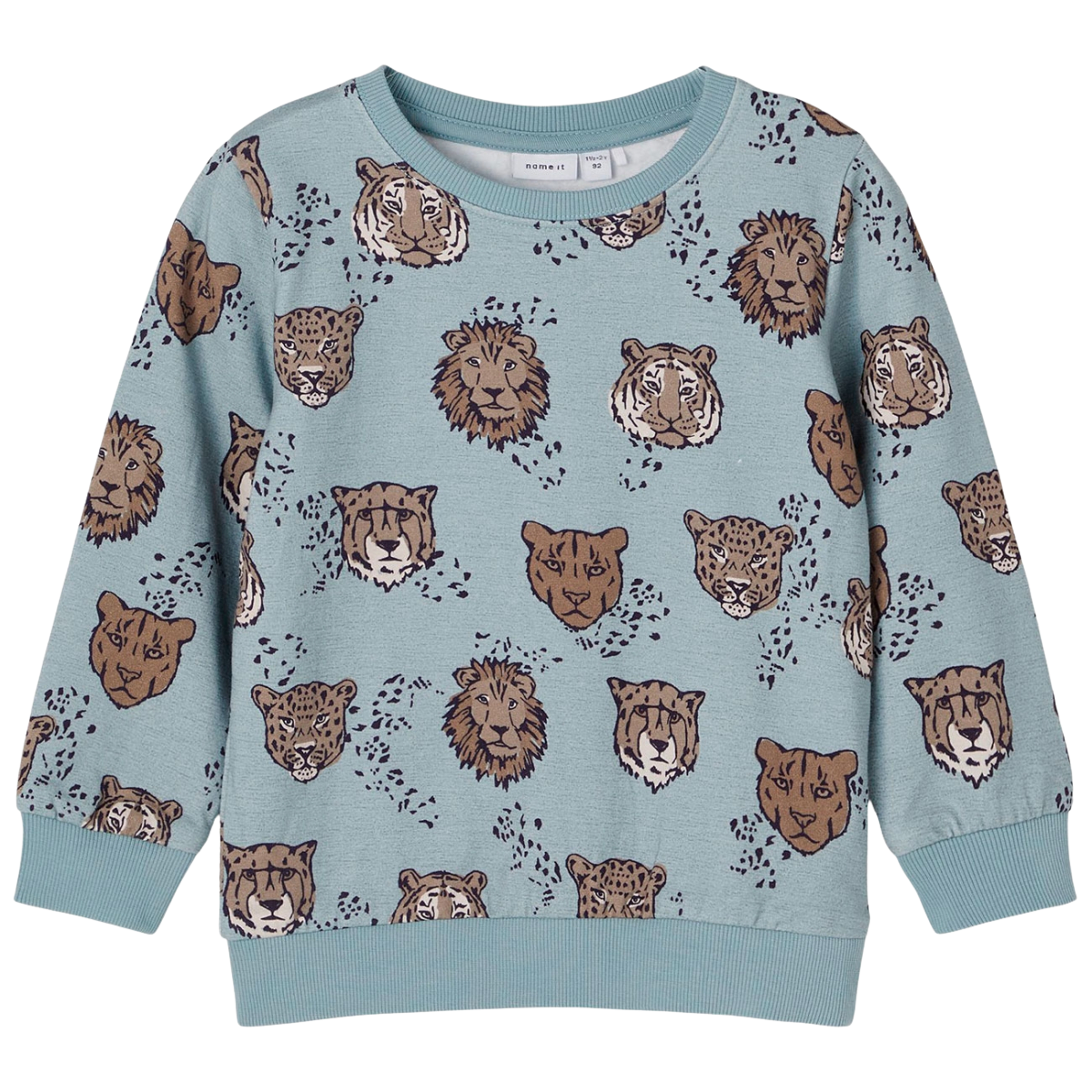 LS Sweatshirt Silver Blue