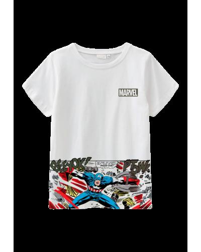 Marvel Maurico SS T-shirt  Bright White