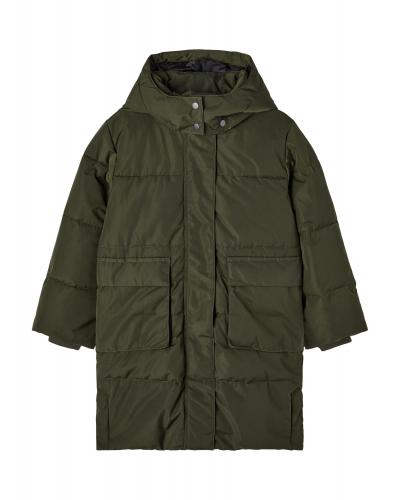 Mary Long Puffer Jacket Rosin