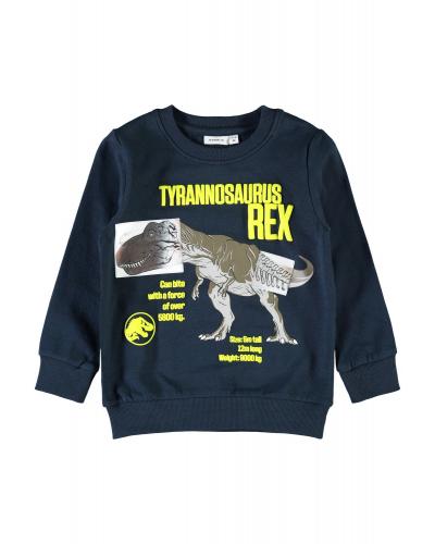 Jurassic Greogo Sweatshirt Dark Sapphire