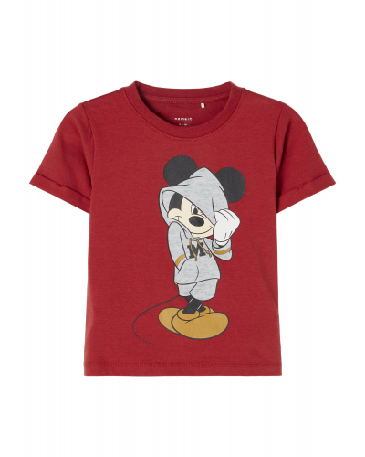 Mickey Jarmo SS T-shirt Chili Oil