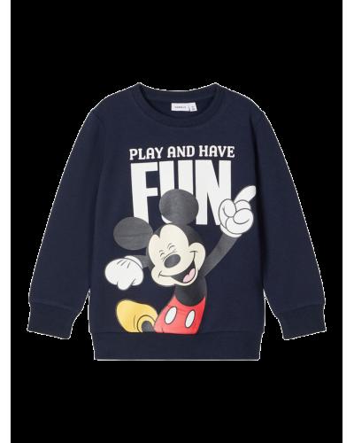 Mickey Sweatshirt Dark Sapphire