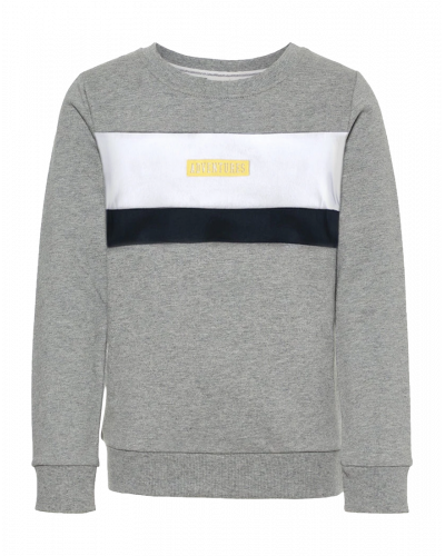 Name It Kasmus Sweatshirt Grey Melange