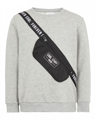 Name It Sweatshirt Nabag Light Grey