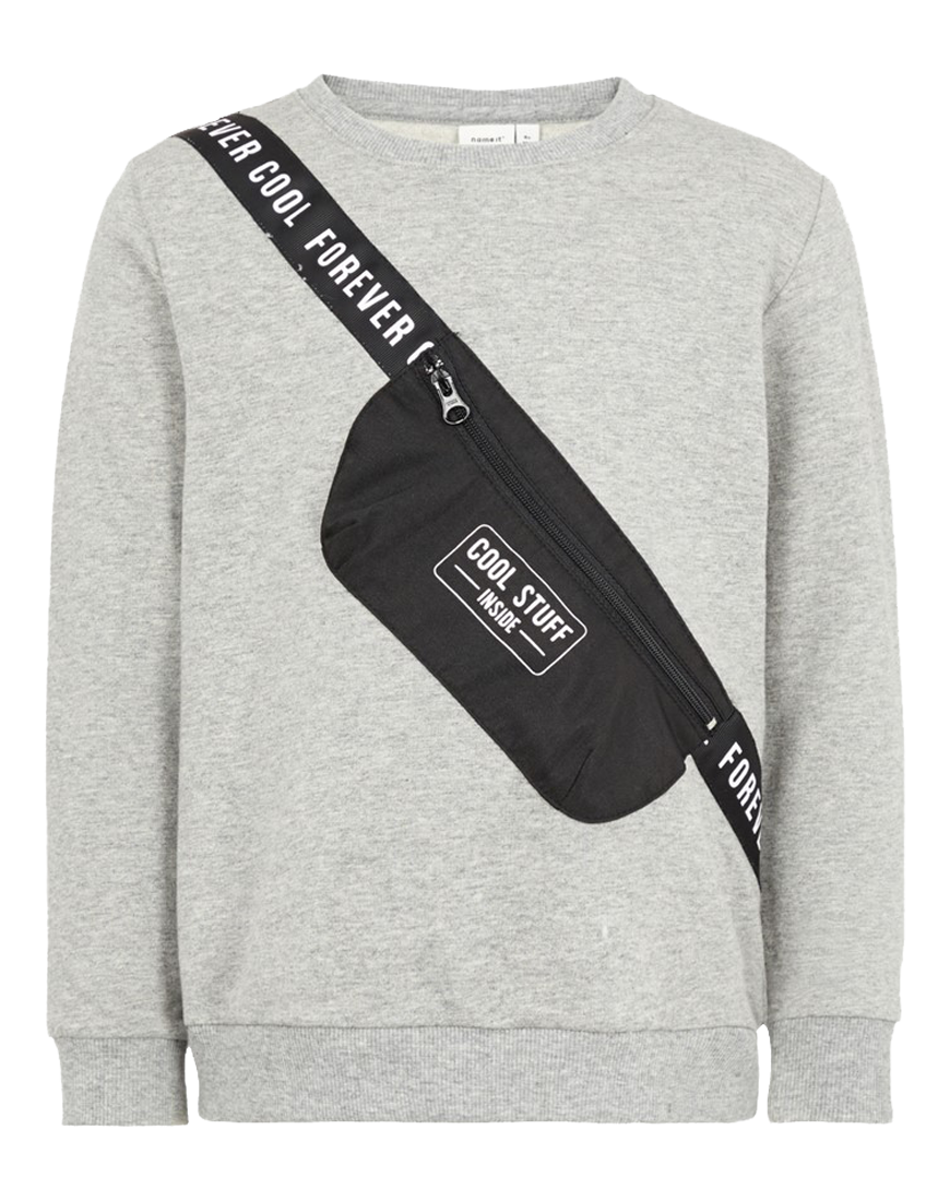 Sweatshirt Nabag Light Grey