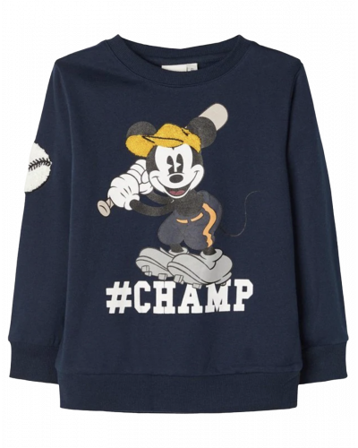 Name It Sweatshirt Mickey Dark Sapphire