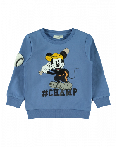 Name It Sweatshirt Mickey Dutch Blue