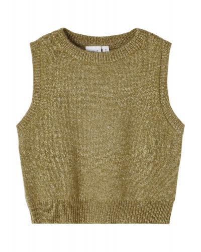 Napuf Knit Slipover Stone Gray