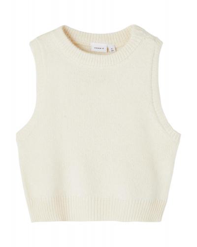 Napuf Knit Slipover Whitecap Gray