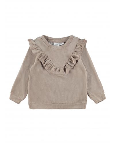 Naya Sweatshirt Taupe Gray