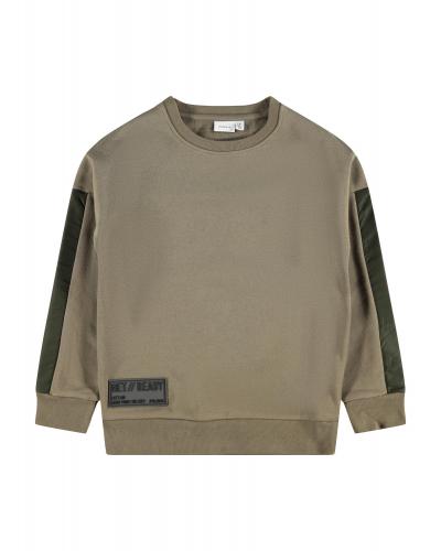 Olas Sweatshirt Stone Gray