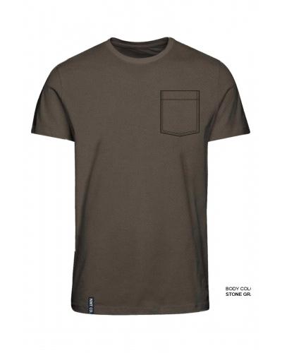 Novole T-shirt Stone Gray