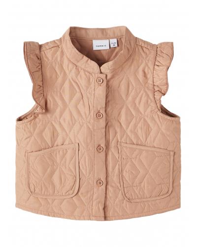 Olone Vest Outerwear Café Au Lait