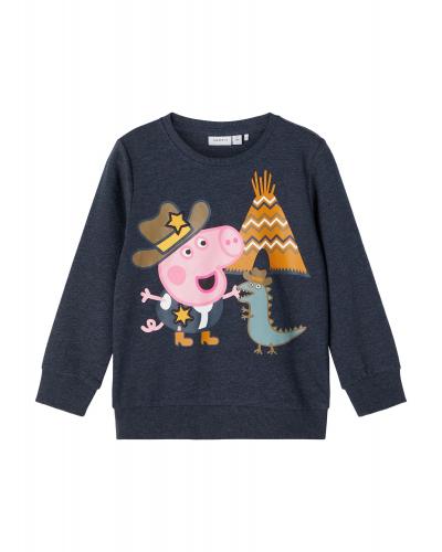 Peppa Pig Toby Sweatshirt Dark Sapphire