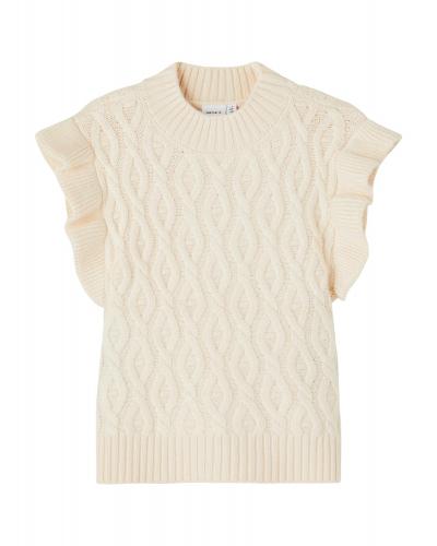 Ramat Knit Slipover Buttercream